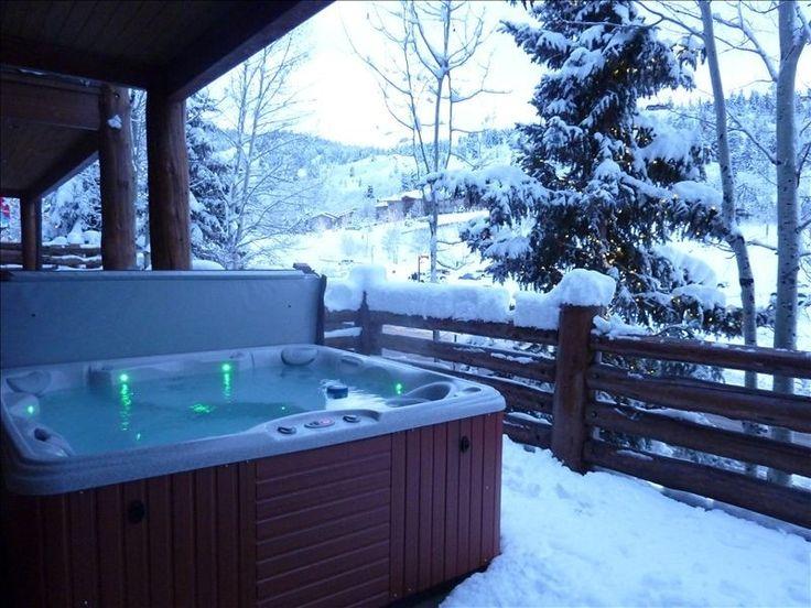 Outside Jacuzzi Winter