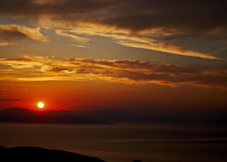 sunset @ Tzia Greece