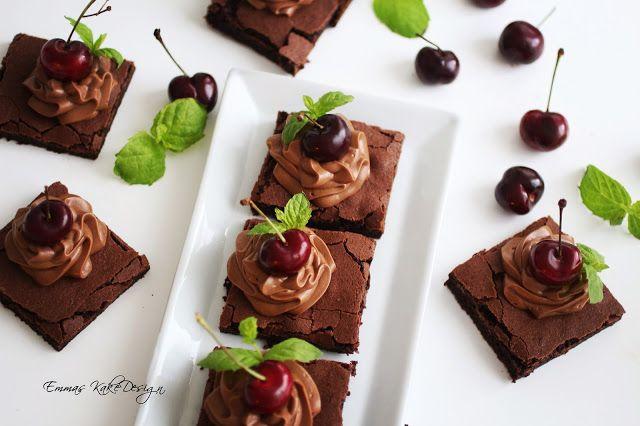 Emmas KakeDesign: Brownie recipe! www.emmaskakedesign.blogspot.com