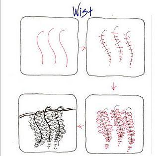 (2011-12) Wist1Zentangl Tangled, Zentangle Art, Michele'S Tangled, Michele Beauchamp, Art Zentangle, Michele Tangled, Tangled Pattern, Shelly Beauch, Zentangle Pattern