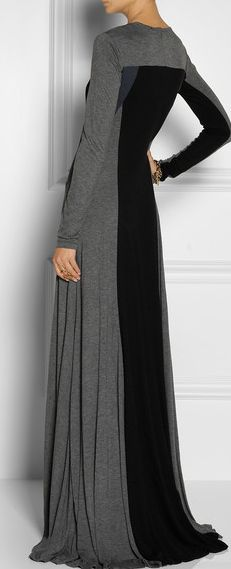 DKNY/ This would be real nice with a hijab and some nice black high heel boots.