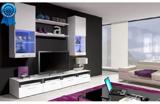 99 best meuble tv images on pinterest boards campaign and furniture. Black Bedroom Furniture Sets. Home Design Ideas