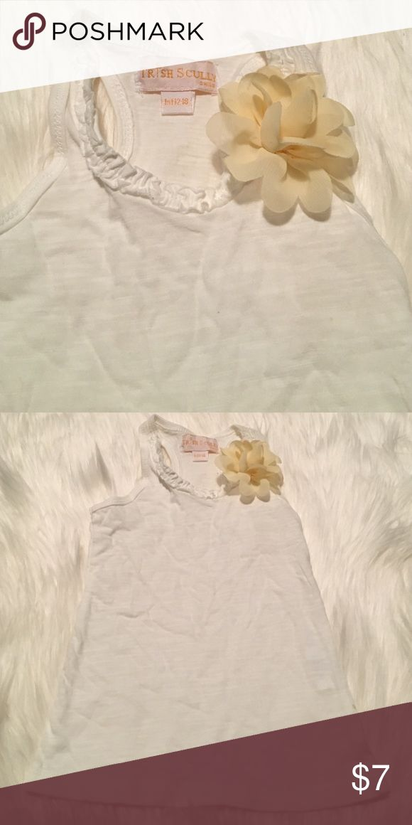 Trish Scully Child - Flower Tank - Infant 12-18 M Beautiful! Trish Scully Shirts & Tops Tank Tops
