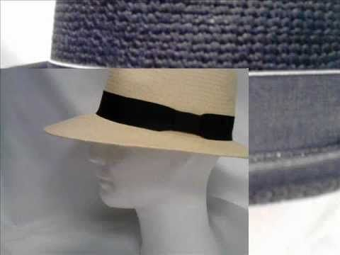 WITTING ® Headwear handmade original PANAMA Hat Hoed Hut Sombrero Chapeau  Available at H.Witting & Zn Hats Caps Fashion Accessoires Hoeden Petten Modeaccessoires Hüte Mützen Modeaccessoires Oosterstraat 51 9711NR Groningen