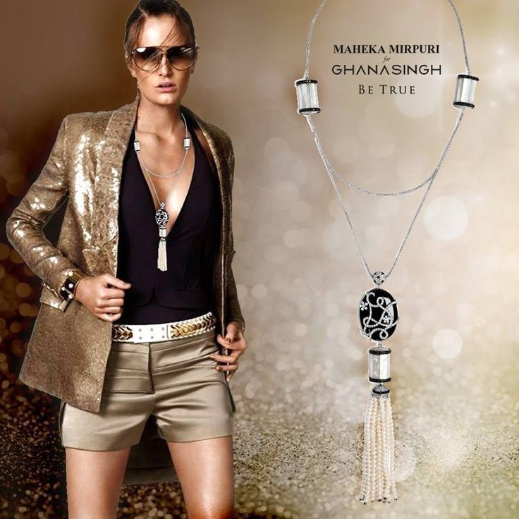 A Chic Shirt Chain for a Classic Casual Look By #mahekamirpuri for #GBTBeTrue...