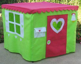 Card Table Playhouse Toy Eco Friendly Custom Order