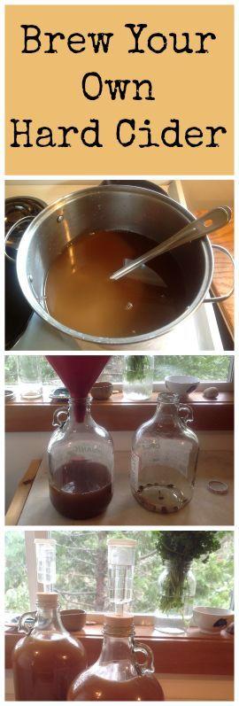 How to Make Hard Cider Part 1: Brew it! ~ Simple and delicious! www.growforagecookferment.com: http://www.growforagecookferment.comhow-to-make-hard-cider-part-1-brew-it/?utm_content=buffer589d5&utm_medium=social&utm_source=pinterest.com&utm_campaign=buffer