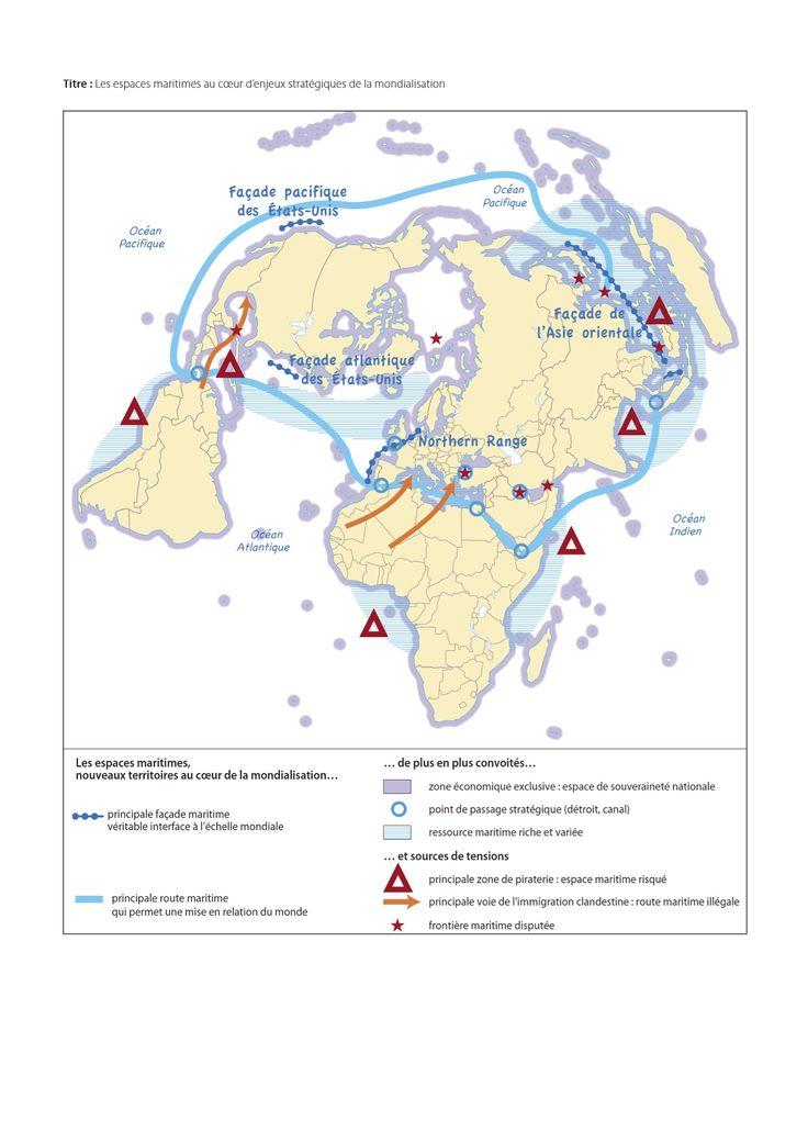 tl  top 10 des croquis du bac  croquis espaces maritimes