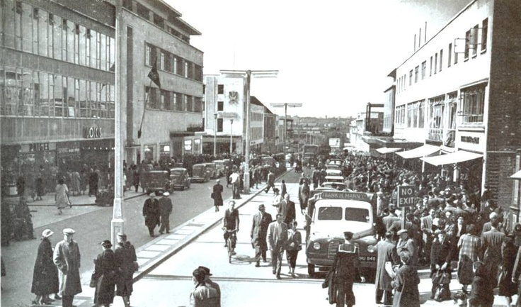 New George Street Plymouth in the 50s and 60s Dolcis Shoe Shop was my first job when leaving school!!!