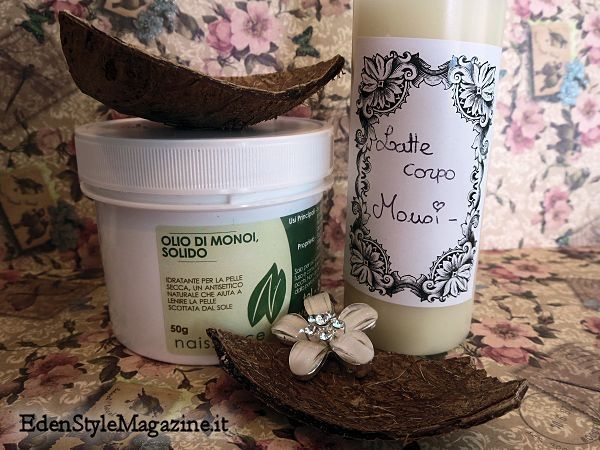 Latte corpo aloe e monoi - ricetta fai da te. Ricette Cosmetici fatti in casa.