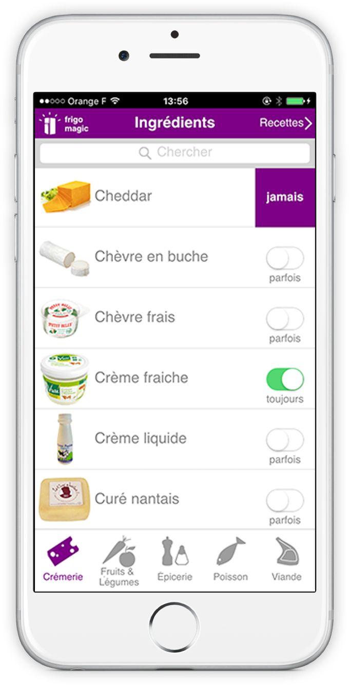 Vous rêvez d'une application du quotidien pour cuisiner simplement, économiser et dire adieu au gaspillage ? L'application Frigo Magic vous propose des recettes pour tous les jours...