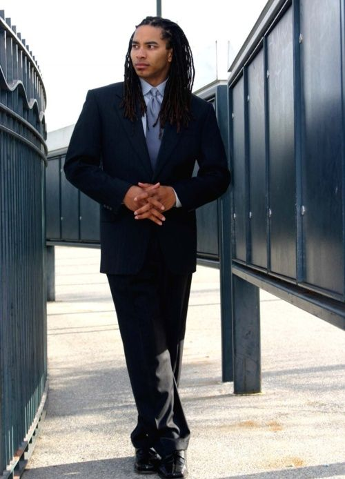 A Man In A Suit Dreads Winning Dreadhead Love Pinterest Hair Medium Sexy And A
