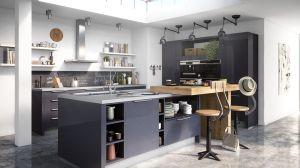 l vormige keuken kookeiland