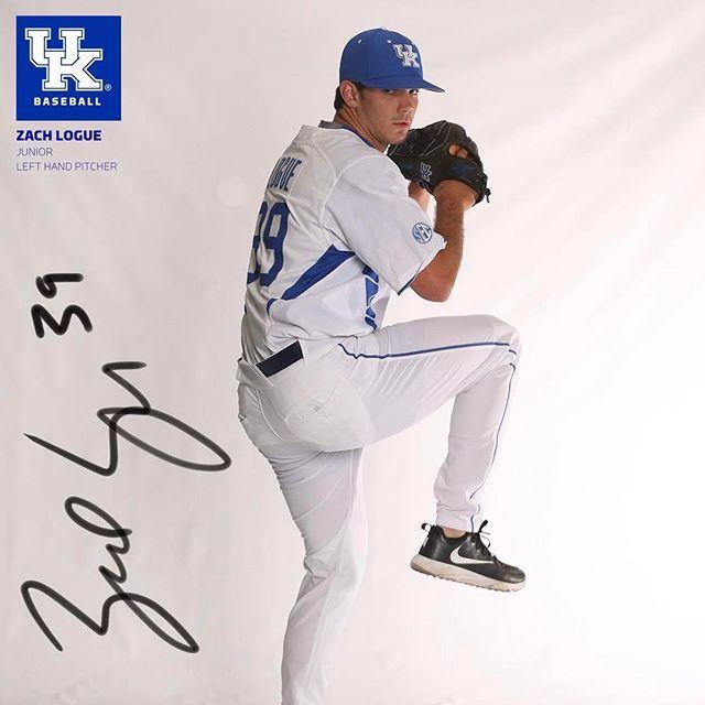 #WildcatWednesday: Zach Logue (#39, Jr., LHP, Mason, Ohio, @zachlogue17) #WeAreUK #knowyourcats