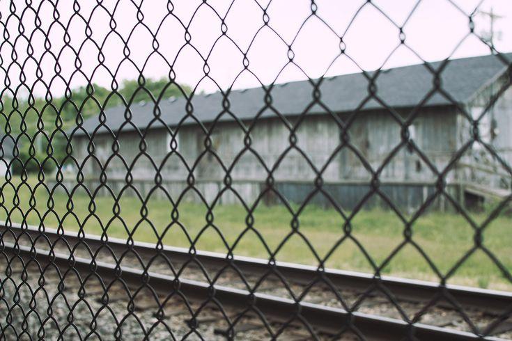 Street Photography | Train Tracks | Berea Kentucky | Photo By: AnthonyAwaken.com