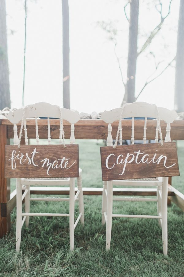 sweet chair signs | Annamarie Akins