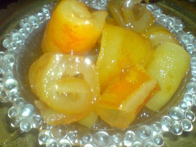 Περγαμόντο γλυκό κουταλιού τέλειο!! - Οι πιο νόστιμες συνταγές
