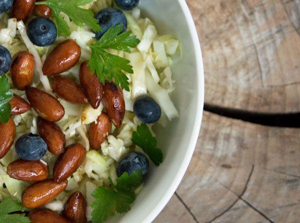 salat med hvidkål opskrift