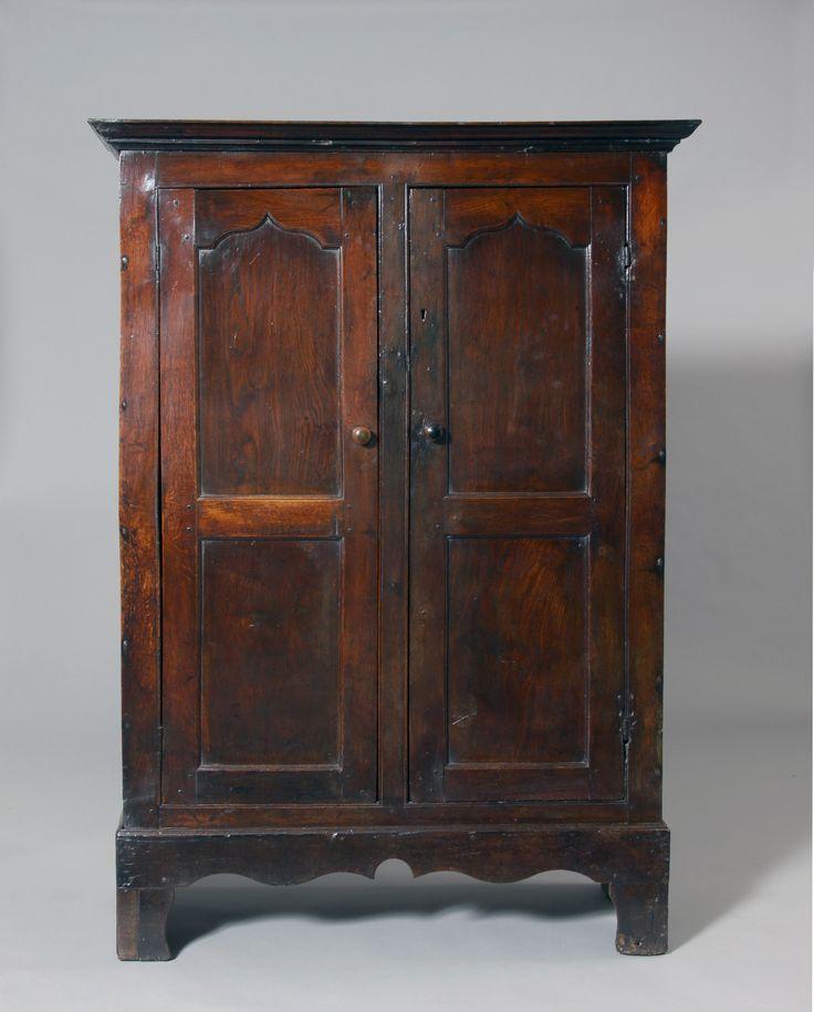 Tim Bowen Antiques, Carmarthenshire, Wales Small Welsh oak cupboard