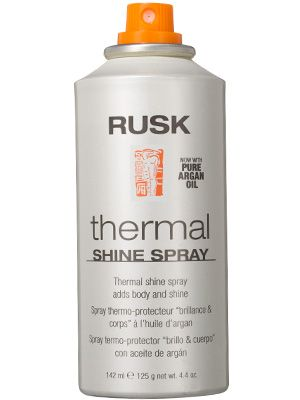 Rusk Thermal Shine Spray Review: Hair Care: allure.com