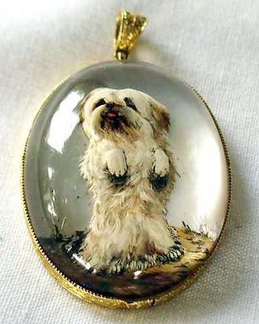 109 Best Images About Vintage Charms Reverse Intaglio On