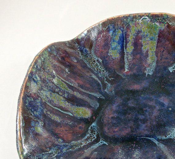 Обслуживание чаши Декоративные чаши Multiglaze Stoneware от Domspottery