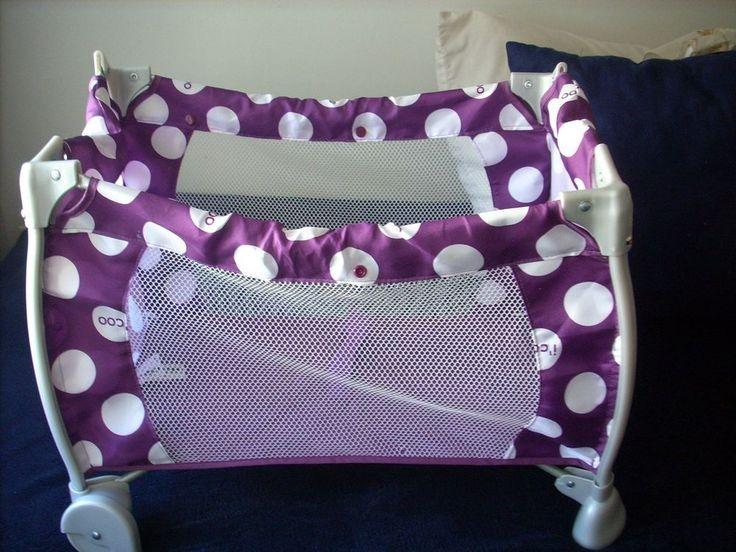 Hauck icoo Doll Starlight Travel Crib - Play Yard - Purple