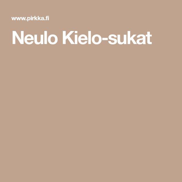 Neulo Kielo-sukat
