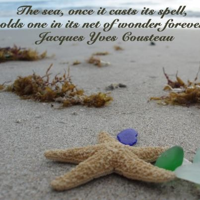 The Sea once it casts its spell, holds one in it's net of wonder forever. - Jacques Cousteau