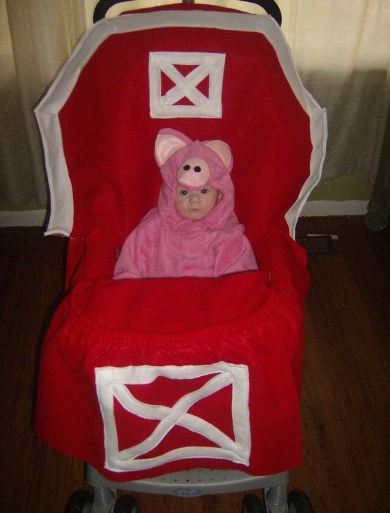 Halloween Costume for Baby or ToddlerStrollers Costumes, Halloween Night, Baby Strollers, Dresses Up, Future Children, Baby Costumes, Costumes Halloween, Baby Halloween Costumes, Red Barns
