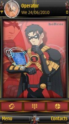 Tema SIS red robin 01hc para celular