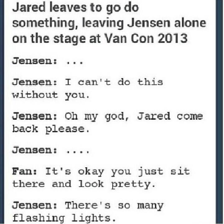 haha Supernatural Jensen Ackles