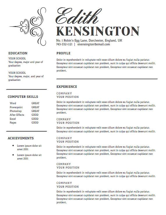 8 best Resume images on Pinterest Backgrounds, Colour schemes - how to start a resume letter