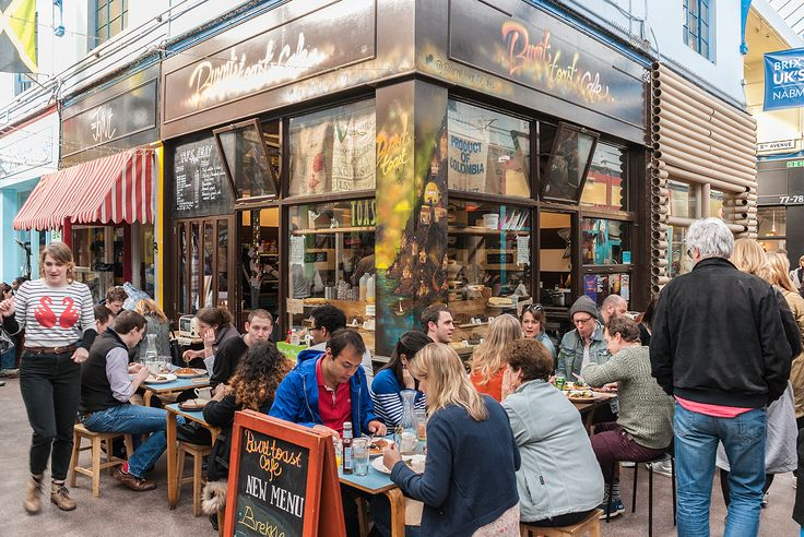 """Breakfast at the Burnt Toast Cafe at Brixton Village Market, of which Jay Rayner said in The Guardian """"I have spent more and more time at Brixton Village ......and become increasingly convinced that it is the most exciting, radical venture on the British restaurant scene right now."""""""