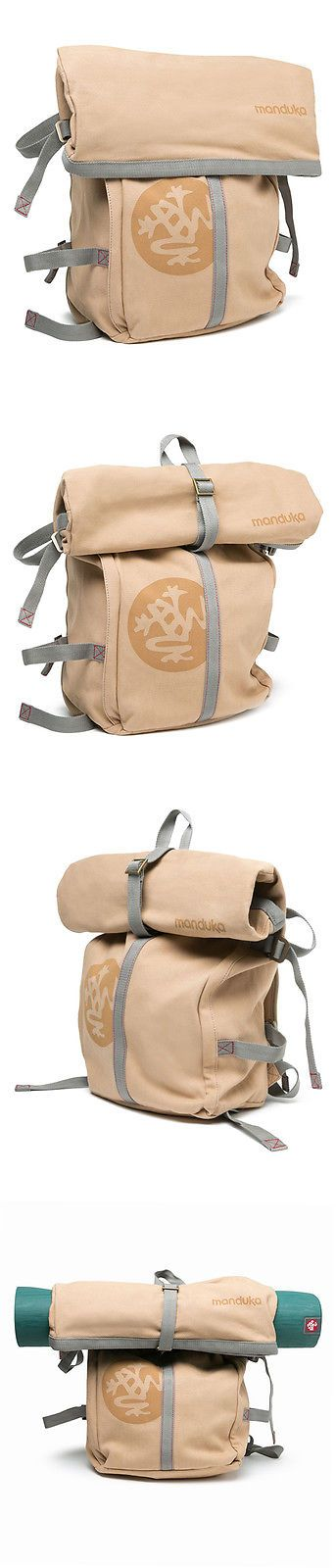 Sweatbands 179811: Manduka The Rugged Roll Top Yoga Backpack BUY IT NOW ONLY: $120.0