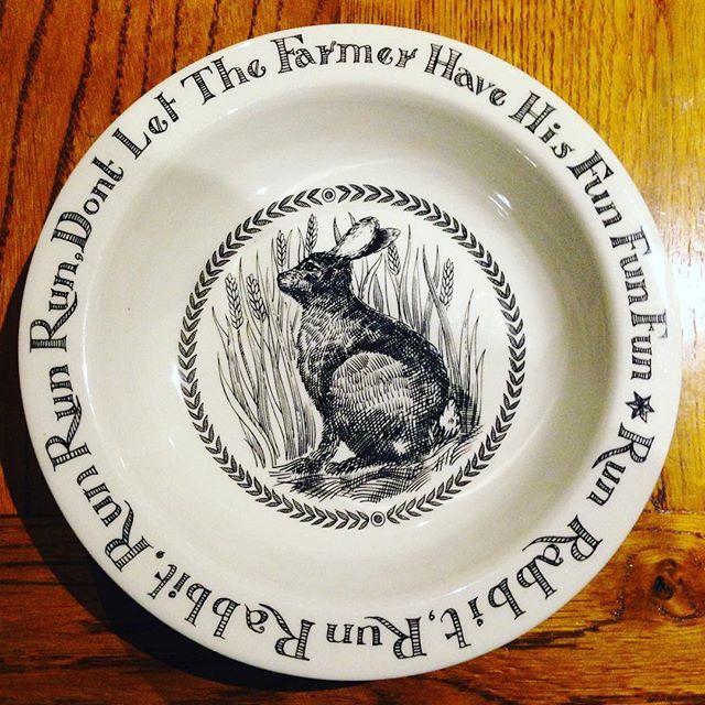 Run rabbit run bowl for sale £25 DM if interested #emmabridgewater #emmabridgewaterforsale #rabbit