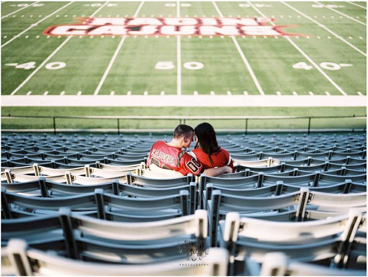 Sarah Beth Photography, Engagement Photography, Lafayette Louisiana, Ragin Cajuns, Football, Film Photography, www.sbethphoto.com