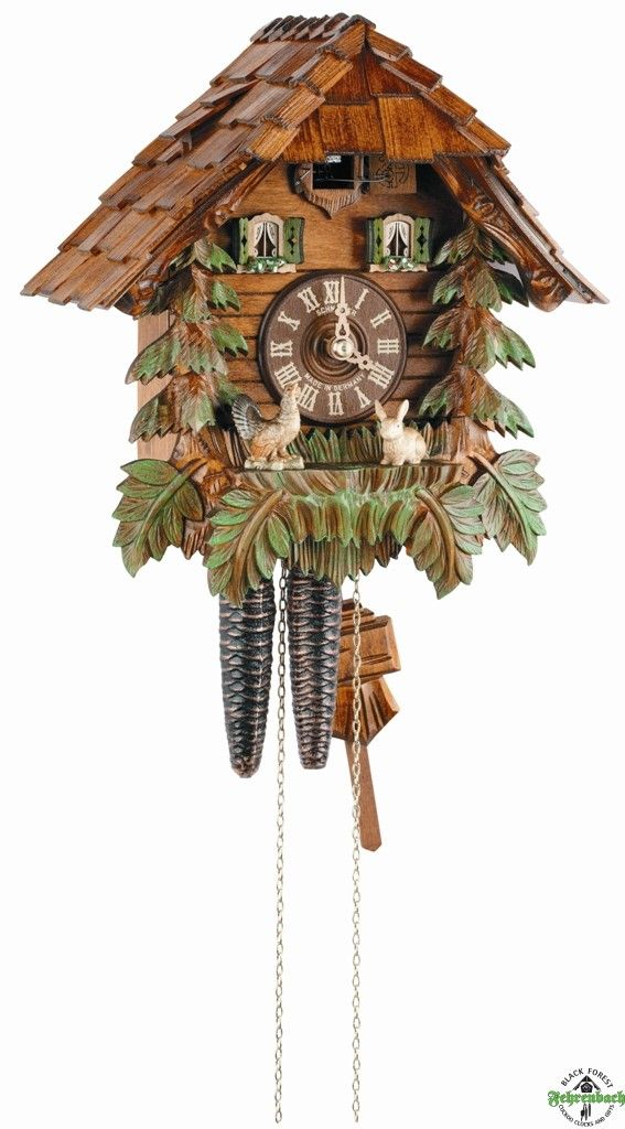 Chalet Cuckoo Clock Forest Style