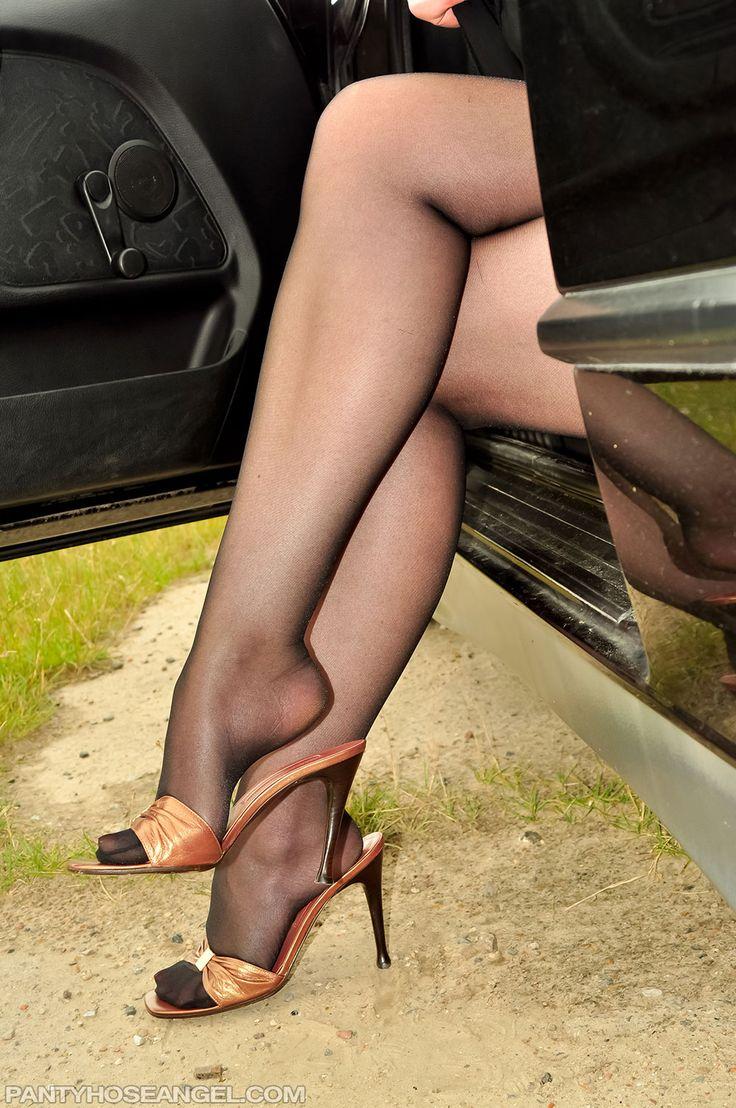 Angels Pantyhose Fetish Website  Heels  Pinterest  Legs -5676