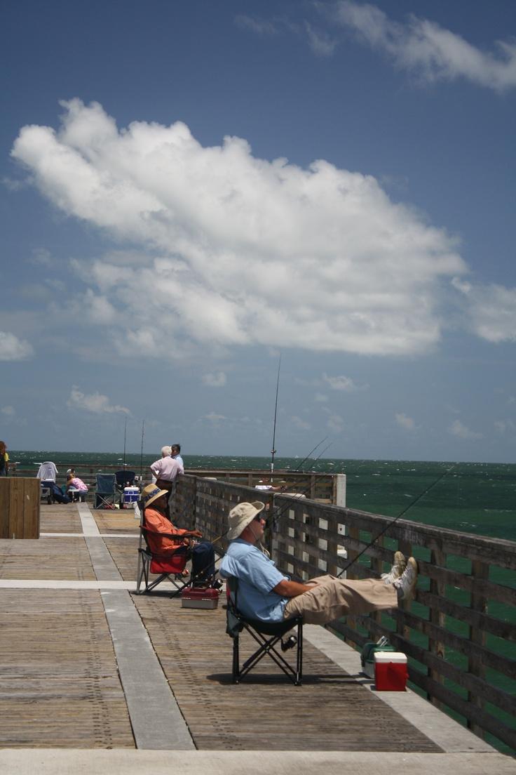 Jacksonville Beach Fishing Pier Fishing June 20 2012