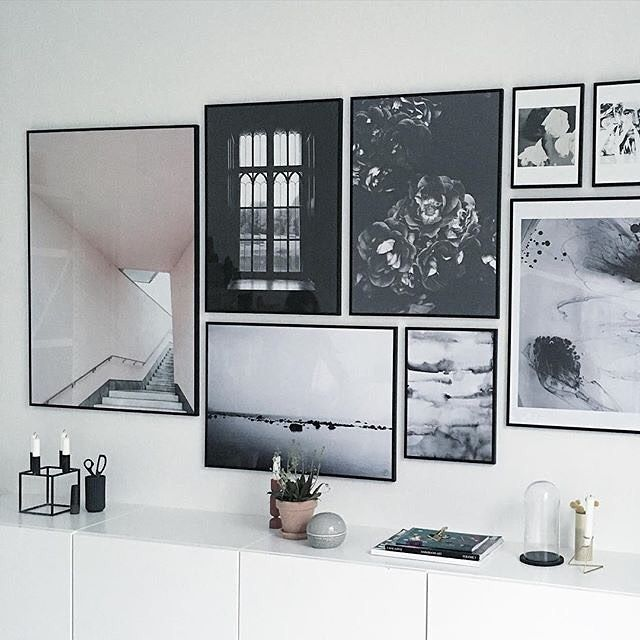 'Room with a view' in a beautiful art wall by our retailer @theposterclub #cocolapine