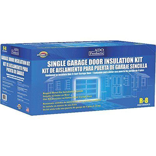 Ado products gdiks single garage door insulation kit for Single garage kit