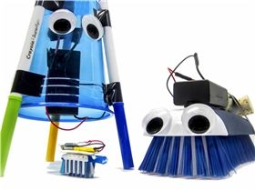 Racing Bristlebots: On Your Mark. Get Set. Go! Project kits so you don't have to try to find all the right parts on your own!