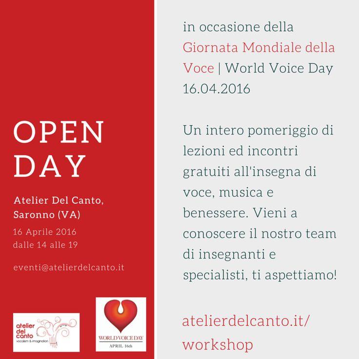 World Voice Day   Giornata Mondiale della Voce 2016   Atelierdelcanto