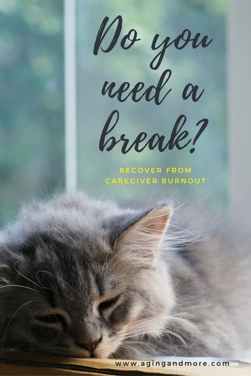 Do you need a break?  Caregiving burnout is real!  Click through to read about how Grace + Frank deal with it as they provide care for their aging parents!