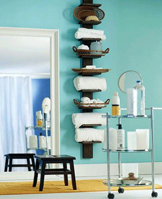 White color and light for breezy bathroom decor for Aqua colored bathroom accessories