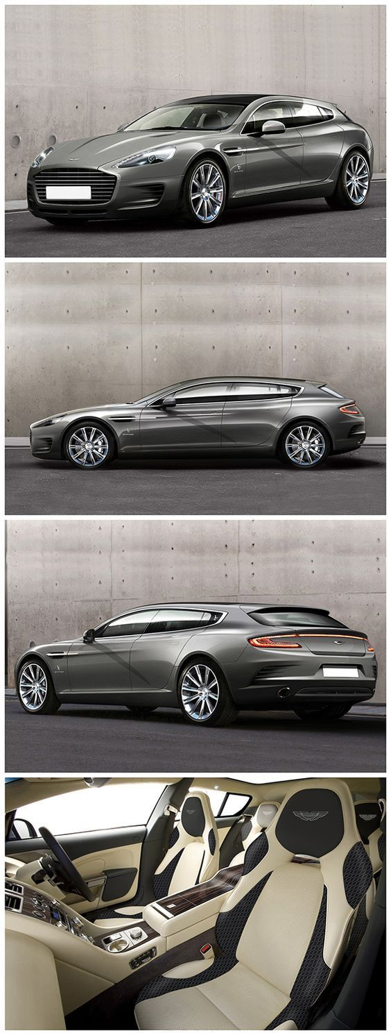 Aston Martin Rapide Shooting Brake. This actually looks better than the model it is derived from