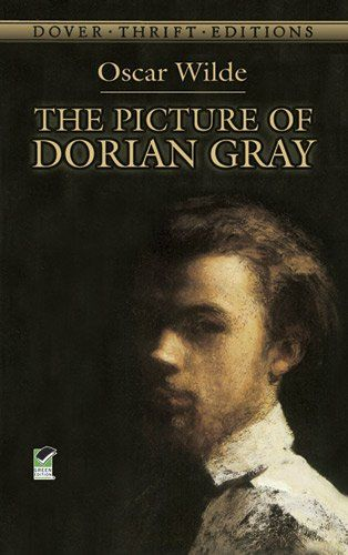 The Picture of Dorian Gray (Dover Thrift Editions) by Oscar Wilde,http://www.amazon.com/dp/0486278077/ref=cm_sw_r_pi_dp_dabutb0TJETFNBG3