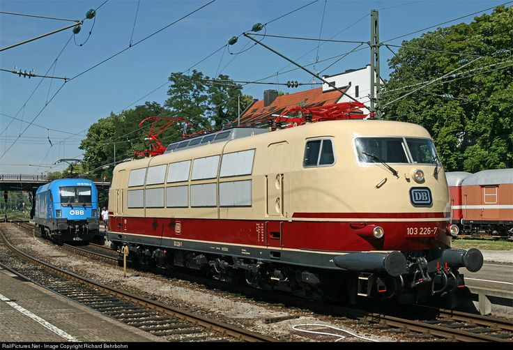 RailPictures.Net Photo: 103 226 DB AG 103 at Lindau, Germany by Richard Behrbohm