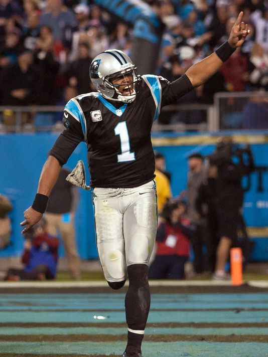 The Carolina Panthers defeat the New England Patriots after a touchdown drive in the fourth quarter and Tom Brady's final pass.